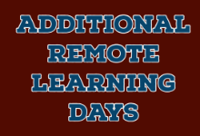 Additional Remote Learning Days