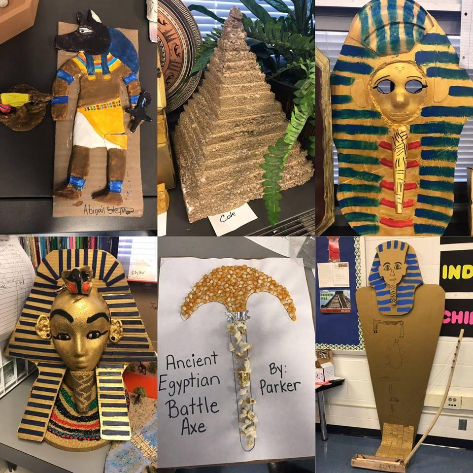 Student projects on Egypt